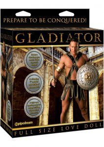 Gladiator Full Size Inflatable Doll With Dong