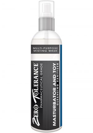 Zero Tolerance Masturbator And Toy Cleansing Sanitizer Spray 4 Ounce