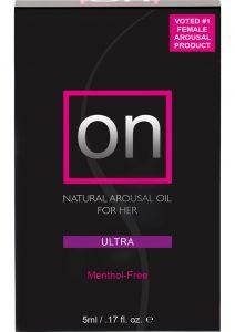 On Arousal Oil Ultra For Her Boxed .17 Ounce Bottle