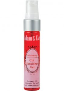 Adam and Eve Strawberry Clit Sensitizer 1 Ounce