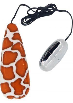 Primal Instinct Wired Remote Control Bullet Giraffe Print