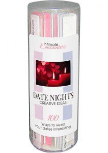 Intimate Encounters Date Nights Creative Ideas