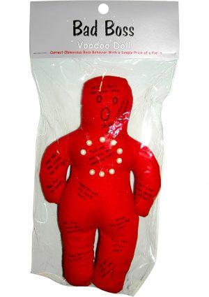 Bad Boss Voodoo Doll Red