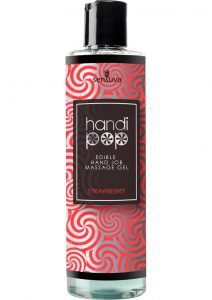 Handipop Edible Hand Job Massage Gel Strawberry 4.2 Ounce