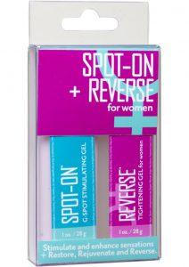 Spot On and Reverse For Women Stimulant And Enhancer Kit 2 Each Per Kit