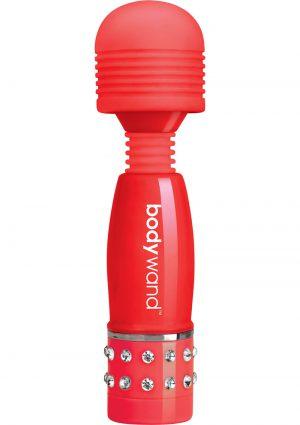 Bodywand Mini Love Edition Body Massager Red 4 Inch
