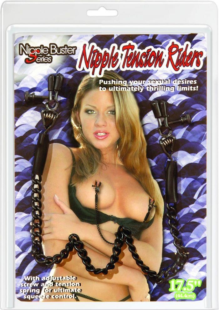 Nipple Buster Nipple Tension Riders Black
