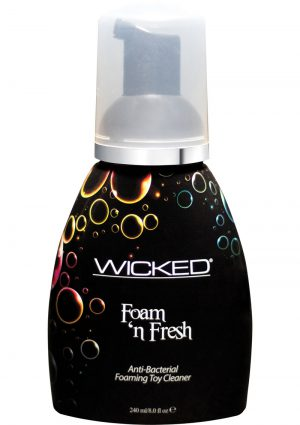 Wicked Foam N` Fresh Anti Bacterial Foaming Toy Cleaner 8 Ounce