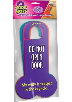 Door Nobs Novelty Door Hangers