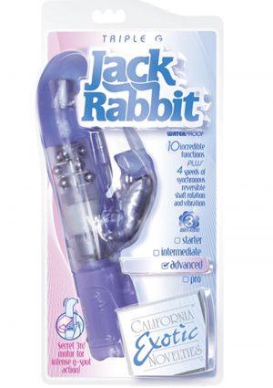 Triple G Jack Rabbit Triple Moter Vibe Waterproof Blue 5 Inch