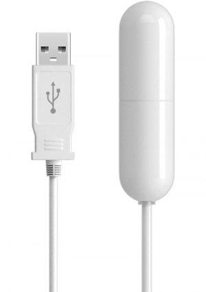 Isex USB Slim Bullet White 2.25 Inch