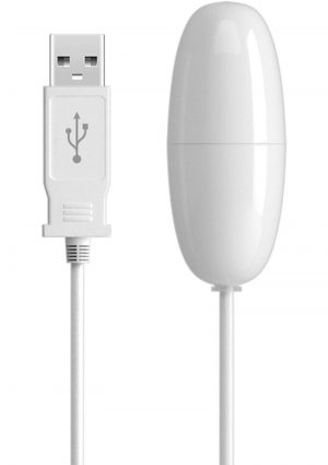 Isex USB Bullet White 2.25 Inch