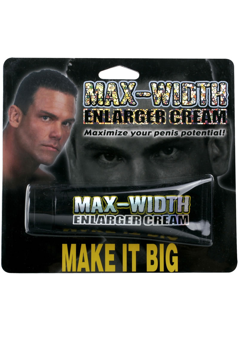 Max Width Enlarger Cream 1.5 Ounce
