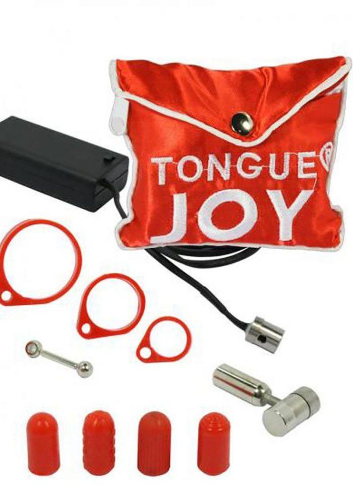 Tongue Joy Oral Vibrator Silver