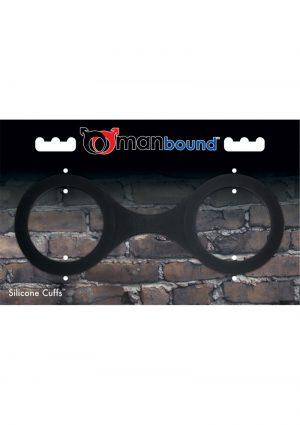 Manbound Silicone Cuffs Black