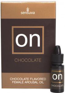 On Chocolate Flavored Female Arousal Oil 5 Milliliters