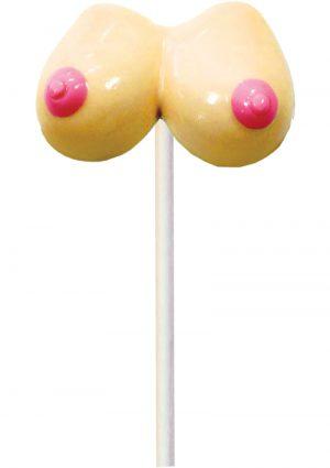 Boobie Pops Lollipop Strawberry