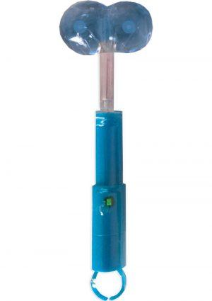 Liquored Up Light Up Boobie Pop Lollipop Blue Hawaiian
