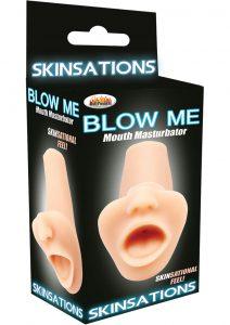 Skinsations Blow Me Mouth Masturbator Flesh
