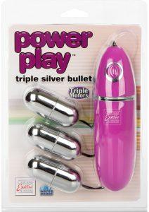 Power Play Triple Silver Bullet Waterproof