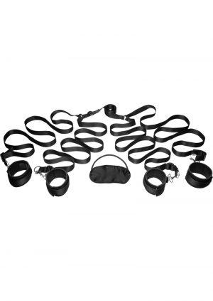 Frisky Bedroom Restraint Kit Black
