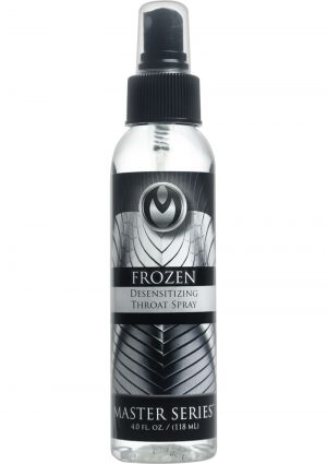 Master Series Frozen Desensitizing Throat Spray 4 Ounce
