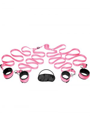 Frisky Bedroom Restraint Kit Pink