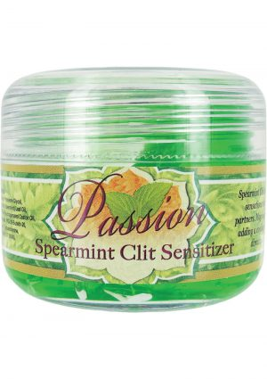 Passion Clit Sensitizer Spearmint 2 Ounce Jar