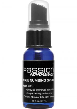 Passion Performance Male Numbing Spray 1 Ounce