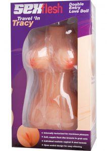 Sex Flesh Travel In Tracy Mini Sex Doll 13 Inch