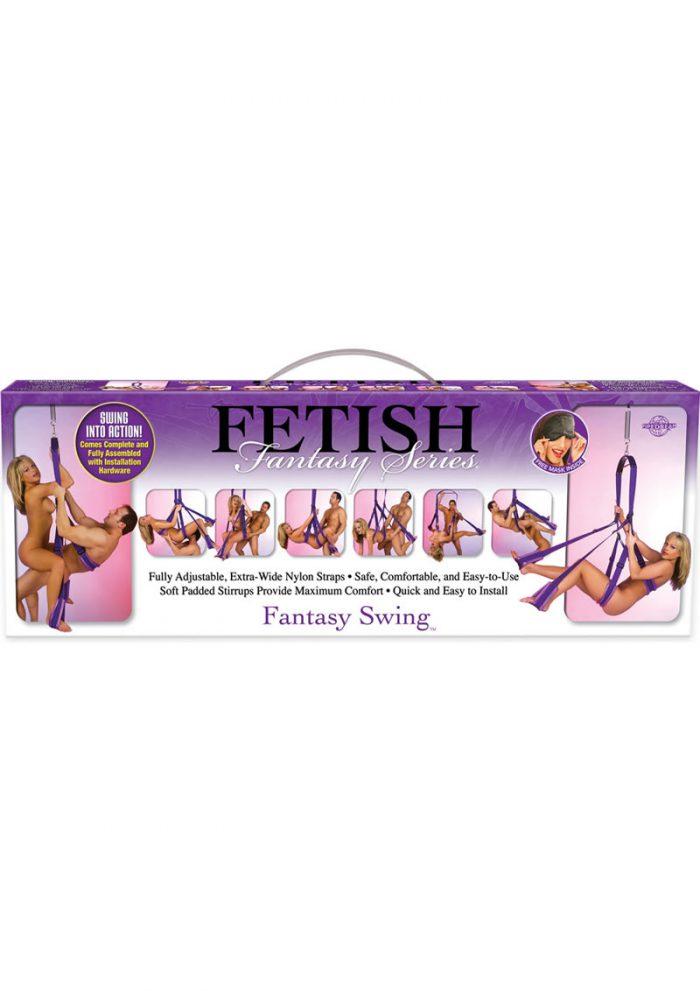 Fetish Fantasy Series Fantasy Swing Purple