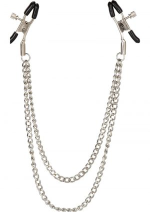 Nipple Play Tiered Nipple Clamps 15 Inch