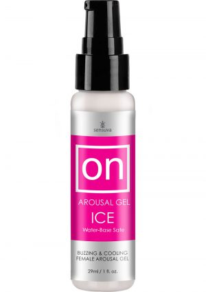 On Arousal Gel Ice Buzzing And Cooling Female Gel Water-Base 1 Ounce