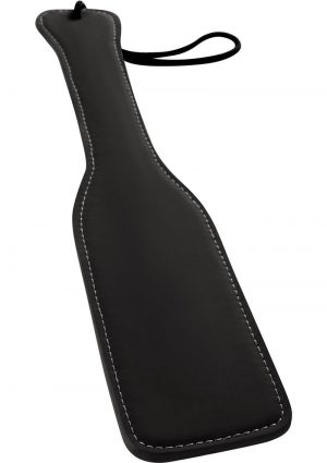 Renegade Bondage Vinyl Paddle Black