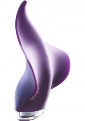 Mimic Rechargeable Silicone Handheld Massager Waterproof Lilac