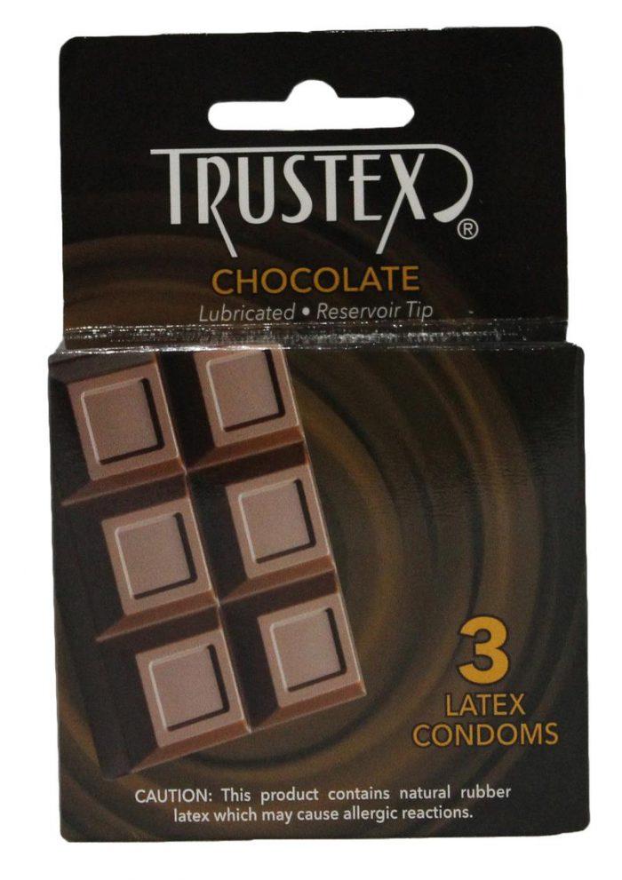 Trustex Condom Chocolate Flavored Lurbricated
