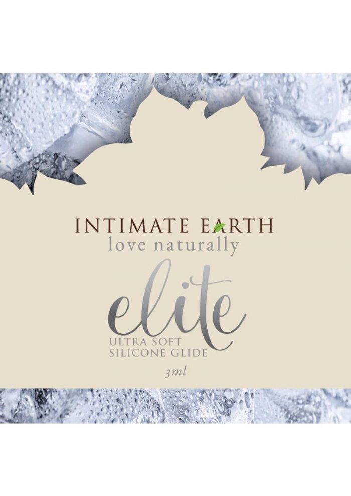 Intimate Earth Elite Ultra Soft Silicone Shiitake Glide 3 Milliliter Foil Pack
