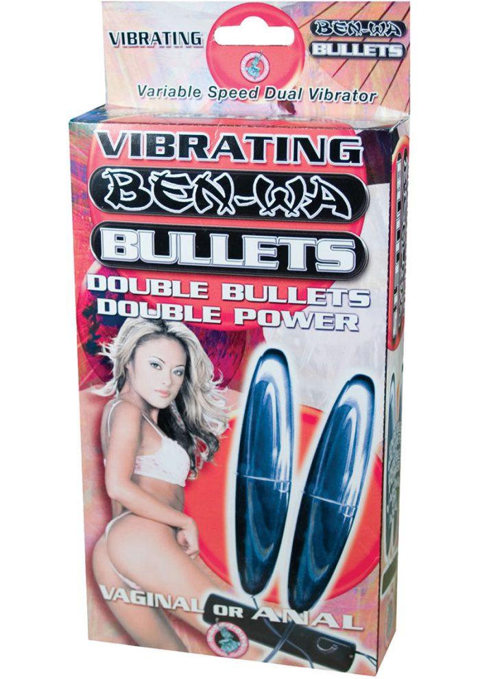 Vibrating Ben Wa Bullets 5.25 Inch Silver