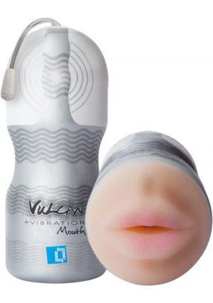 Vulcan Vibration Ripe Mouth Male Stroker