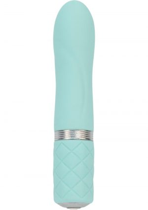 Pillow Talk Flirty USB Rechargeable Silicone Bullet Teal