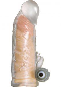 Maxx Gear Vibrating Penis Extender Clear