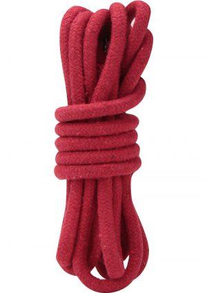 Lux Fetish Bondage Rope Red 10 Feet