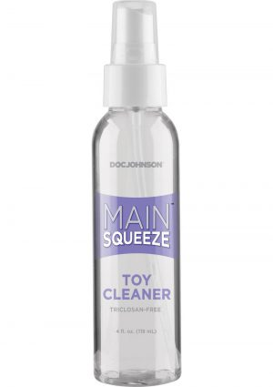 Doc Johnson Main Squeeze Toy Cleaner 4 Ounce