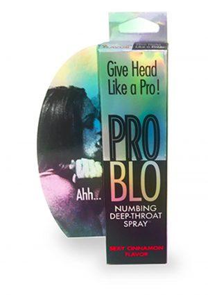 Pro Blo Numbing Deep Throat Spray Sexy Cinnamon Flavor