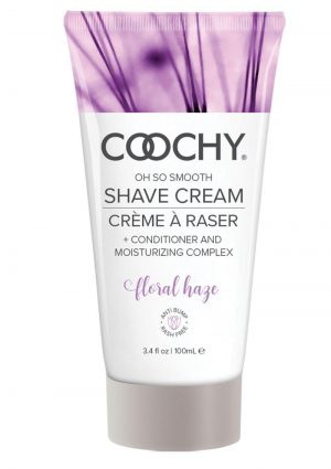 Coochy Oh So Smooth Shave Cream Floral Haze 3.4 Ounce