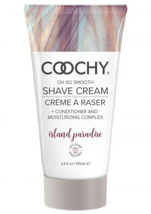 Coochy Oh So Smooth Shave Cream Island Paradise 3.4 Ounce