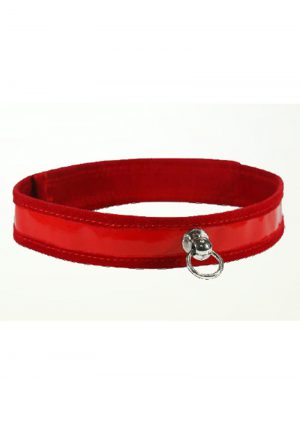 Sex And Mischief Day Collar Red