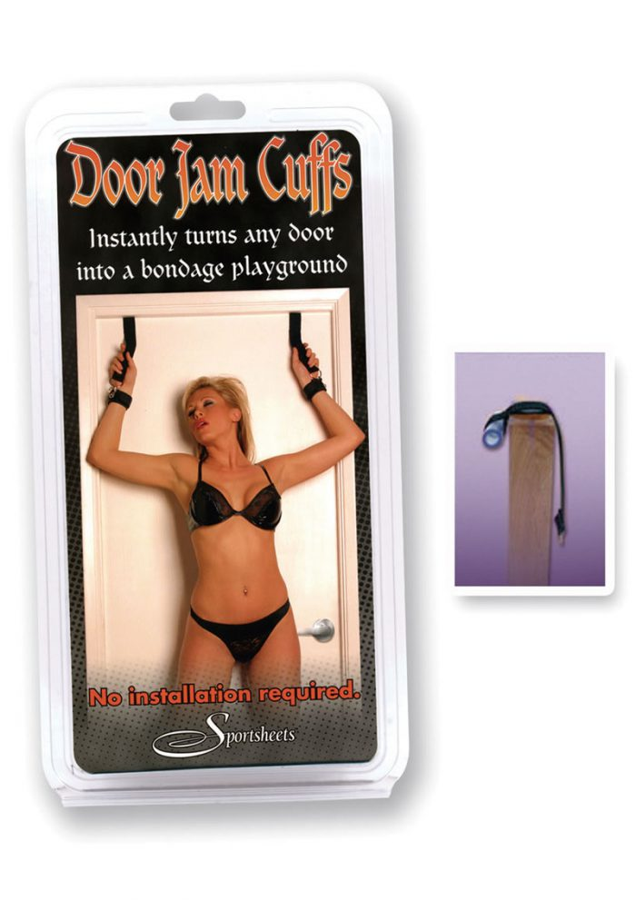Door Jam Cuffs Black
