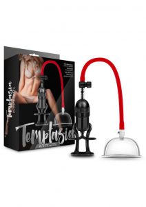Temptasia Intense Pussy Pump System Black And Red