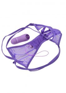 Fantasy For Her Cheeky Panty Thrill Her Purple
